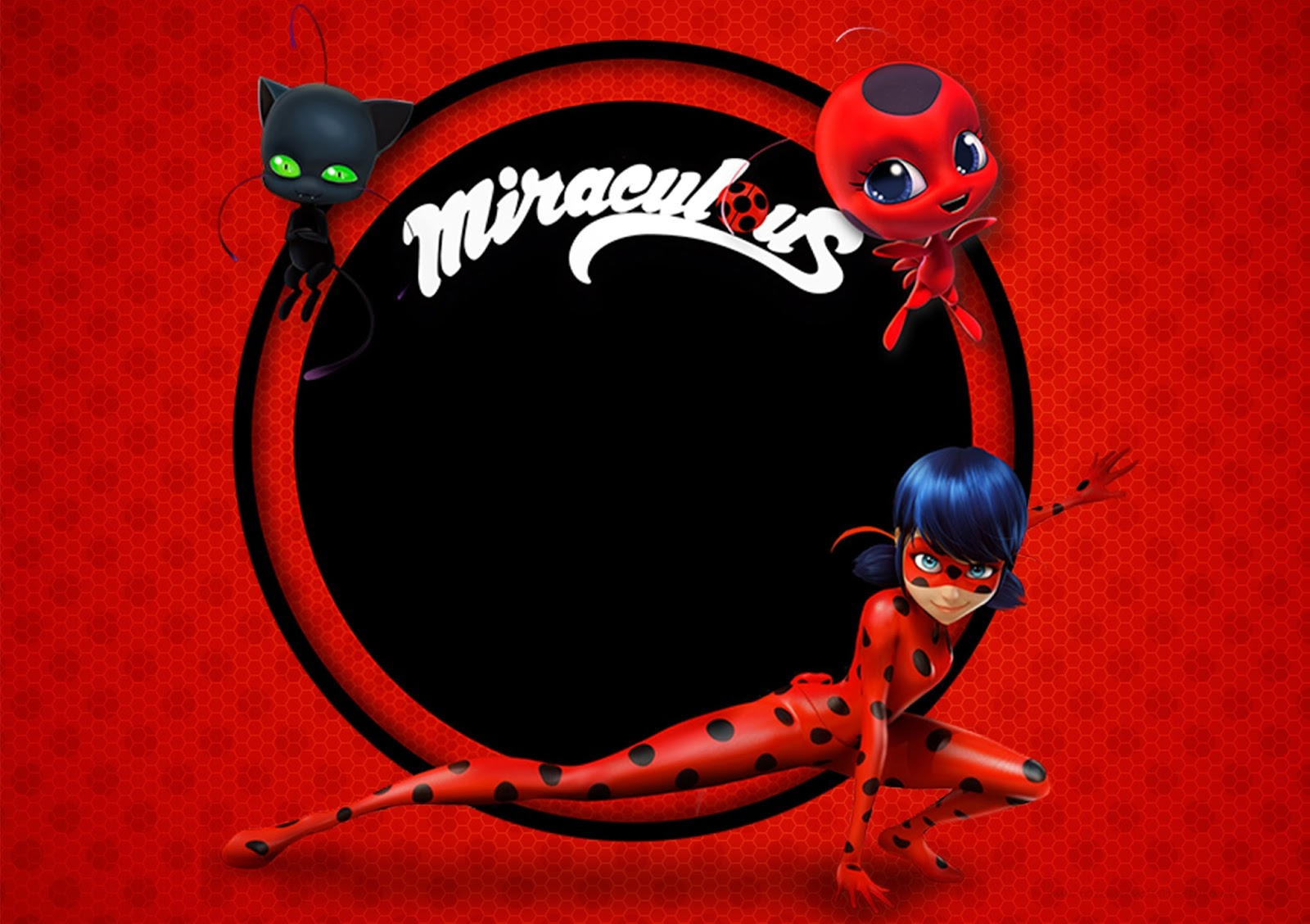 Candy Wall Stickers Miraculous Ladybug Free Printable Invitations Oh My