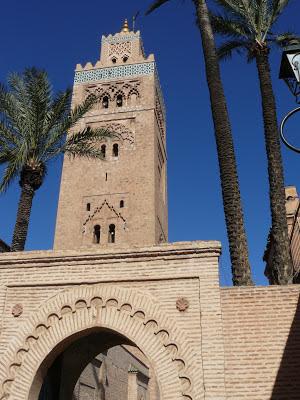 alminar de la koutoubia en marrakech