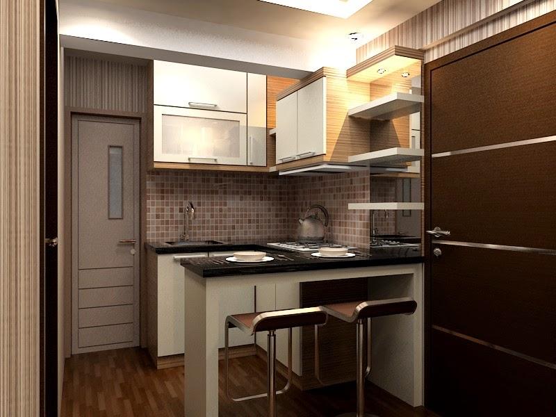 Kitchen set apartemen kitchen set minimalis for Kitchen set apartemen