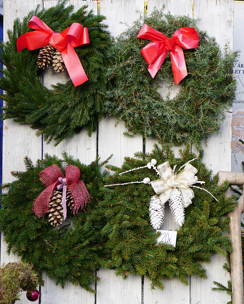 tammisaari, joulumarkkinat, havukranssi