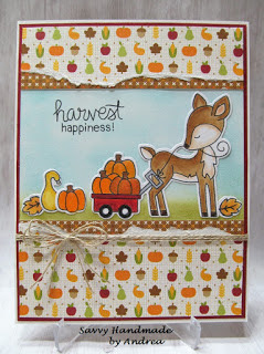 Harvest happiness by Andrea features Harvest Tails by Newton's Nook Designs; #newtonsnook