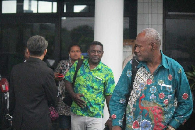 Arrests in Papua as Solomons delegation visits