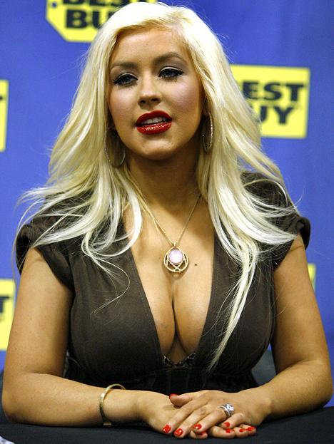 CASA DE  EL MUNDO Christina Aguilera de delgada a gorda