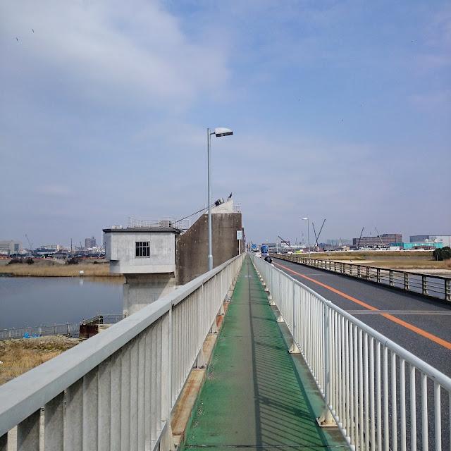 行徳可動堰 行徳橋 江戸川
