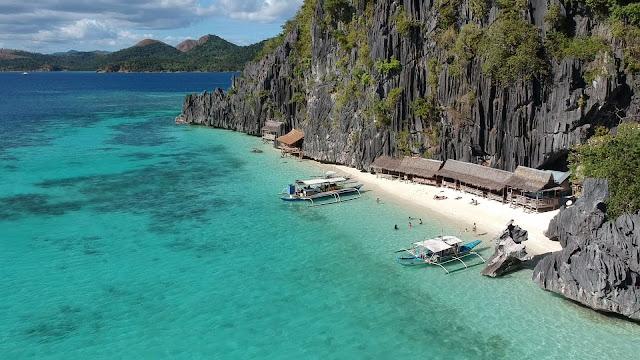 banul beach coron philippines palawan