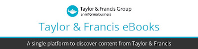 Taylor and Francis ebooks banner