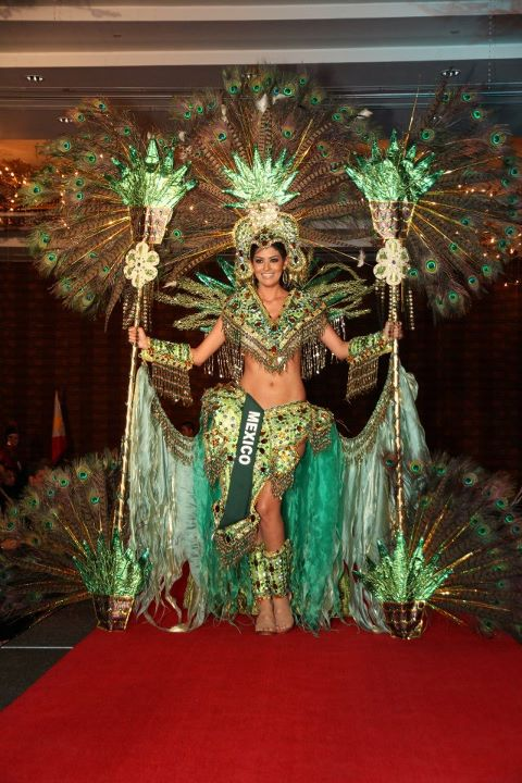 top 5 favorite national costume from miss earth 2011 indonesian