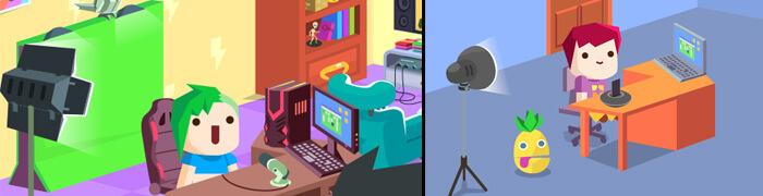 5 melhores jogos de simulador de Youtuber: Vlogger Go Viral