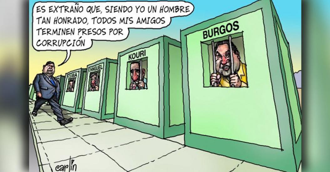 Carlincaturas Jueves 23 Marzo 2017 - La República