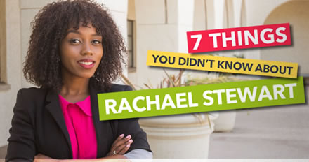 7 Things You Didn't Know About Rachael Stewart