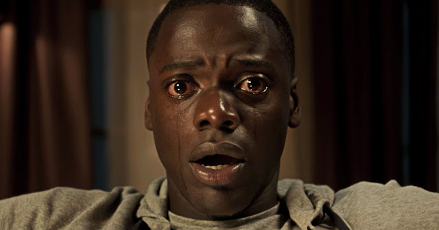 "Daniel Kaluuya in Jordan Peele's horror movie ""Get Out"""