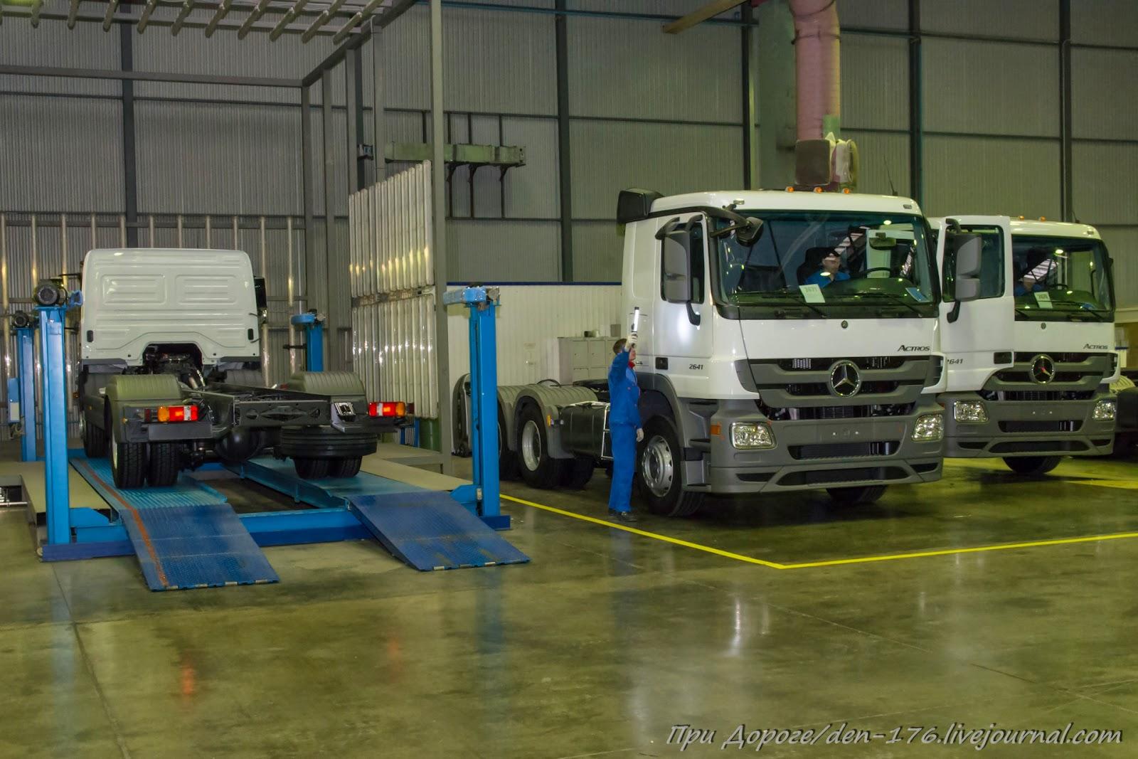 How to make MBTV 04 Mercedes Benz trucks in Naberezhnye Chelny