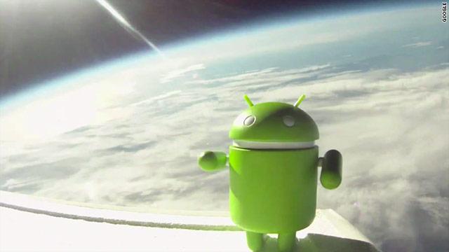 Android Uzayda