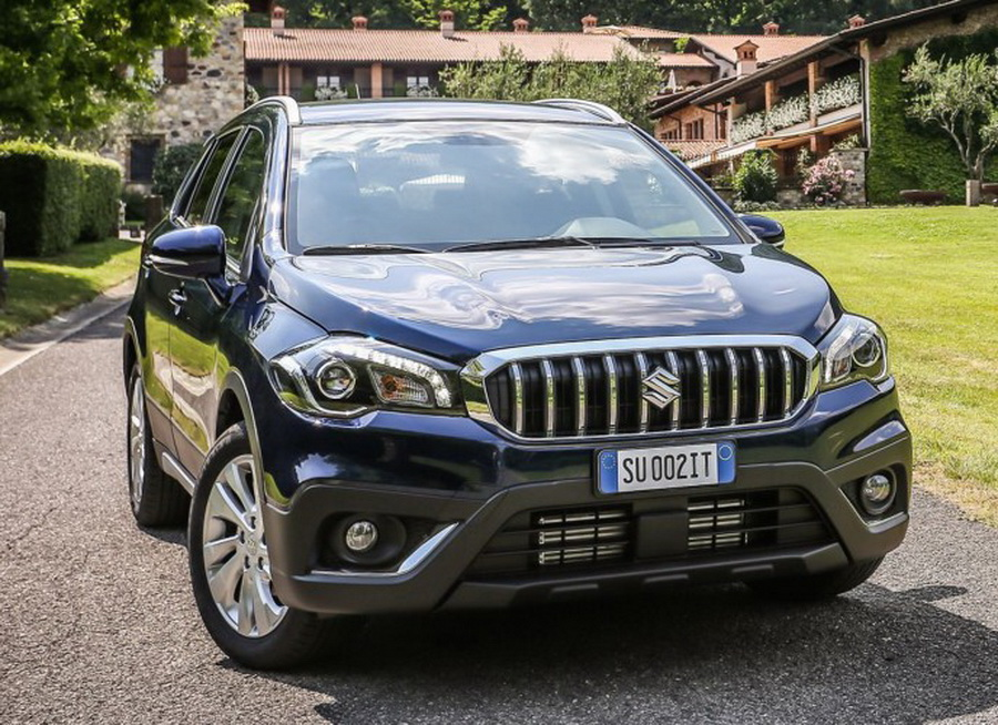 facelifted suzuki sx4 s cross revealed prior to paris show. Black Bedroom Furniture Sets. Home Design Ideas