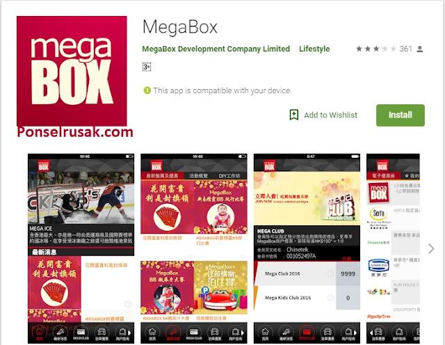 Aplikasi streaming video terbaik untuk android megabox.