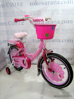 Sepeda Anak Erminio Jennife 16 Inci