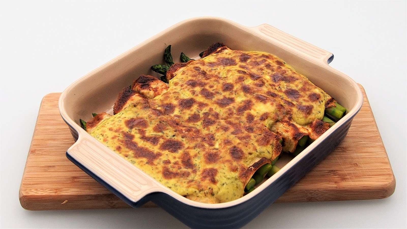 500g Cooked Asparagus (blanch In Boiling Water For 3 Minutes And Plunge  Into Cold Water And Allow To Cool 200g Sliced Ham 5 Pancakes