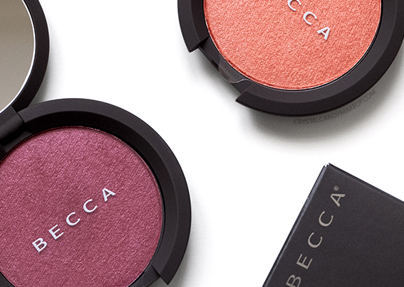 Becca Shimmering Skin Perfector Luminous Blushes Dahlia Tigerlily Review Photos Swatches