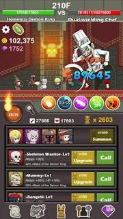 Homeless Demon King Apk v1.25 (Mod Money)