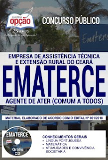 download Apostila EMATERCE 2018 PDF - Agente de ATER