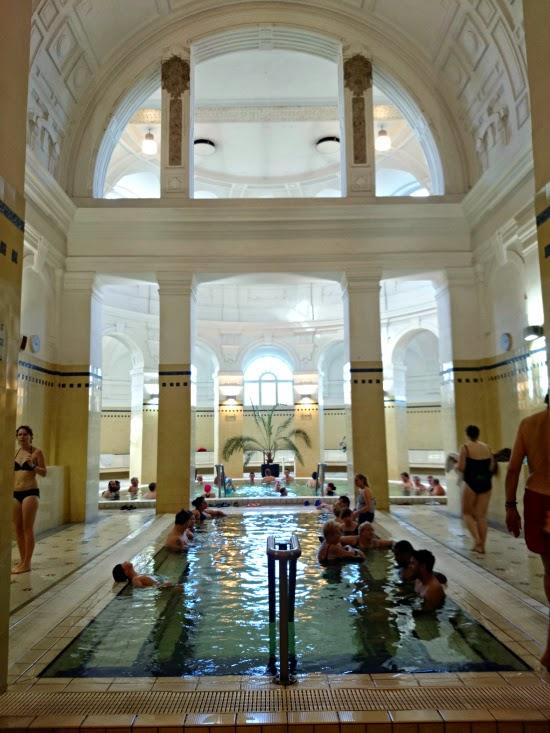 szechenyi baths budapest aroma bath