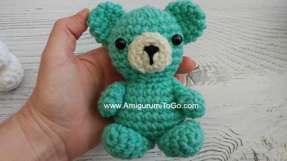 Crochet Your Own Mini Bear Part 1 Head - YouTube | 540x960
