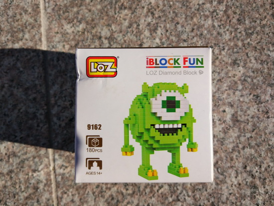 IMG_20171102_130003 Video & Photo Gallery: Unboxing LOZ M-9162 Monsters University Mike Cartoon Building Block Toy Technology