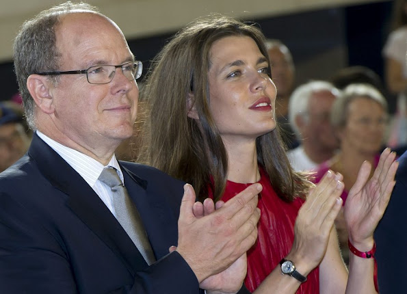 Prince Albert of Monaco and Charlotte Casiraghi, daughter of Princess Caroline of Hanover