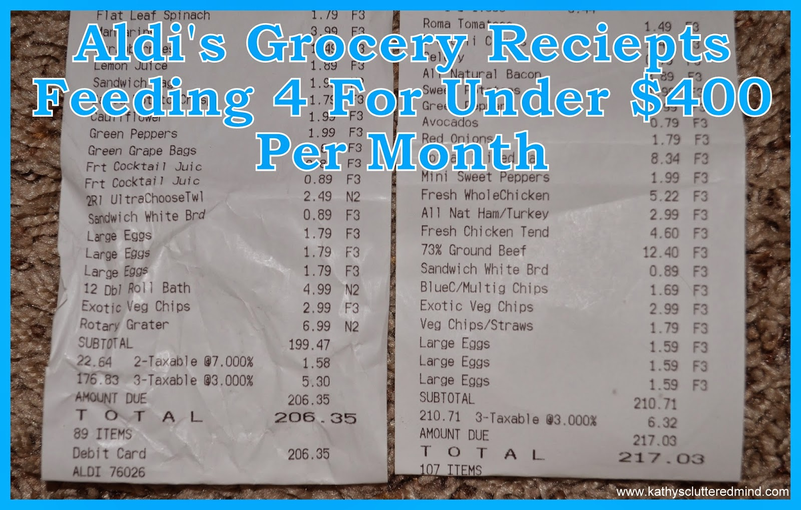 Well here is our grocery list which you can print for FREE here or click  the photo below. I have extra lines to write stuff in that we ...