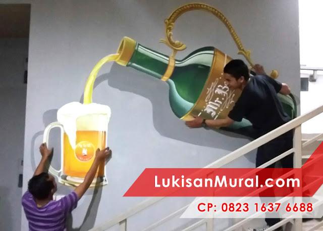 Mural 3d art