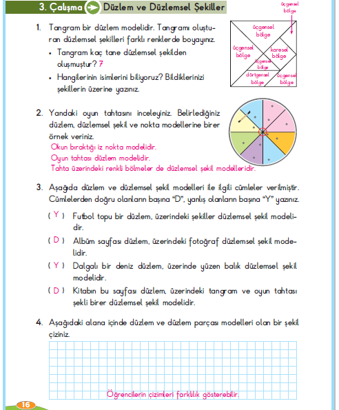 3 Sinif Berkay Yayinlari Matematik Calisma Kitabi 16 Sayfa
