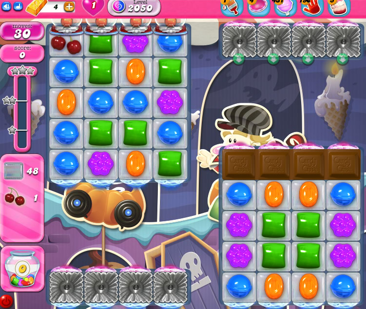 Candy Crush Saga 2050