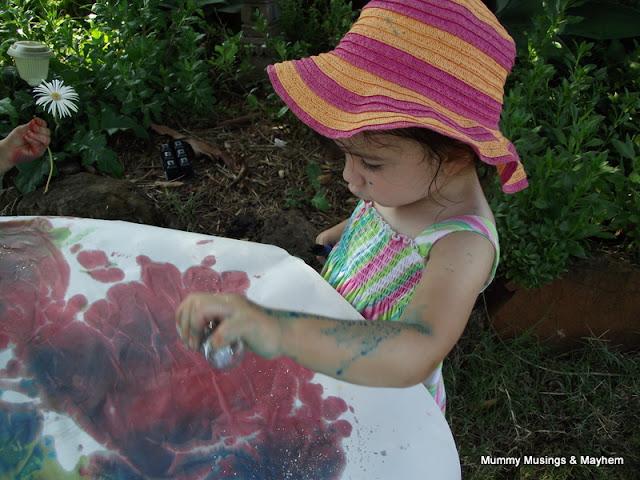 Toddler Outdoor fun!