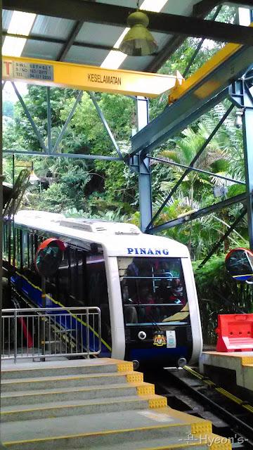 penang hill, tram