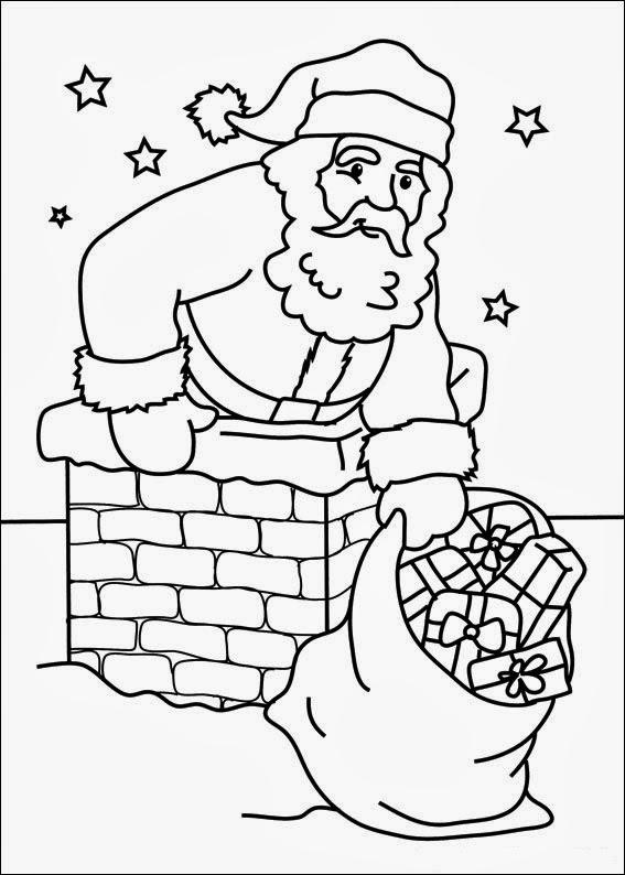 Fun Coloring Pages: Christmas - Santa Claus St. Nicholas ...