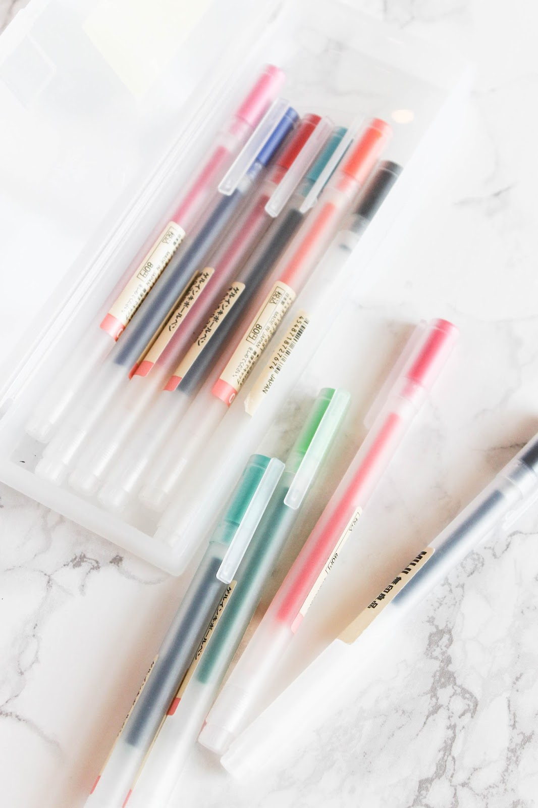 MUJI Pens for College | The Bella Insider