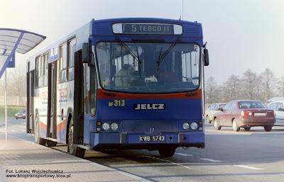 Jelcz 120M, MPK Kraków, Tesco