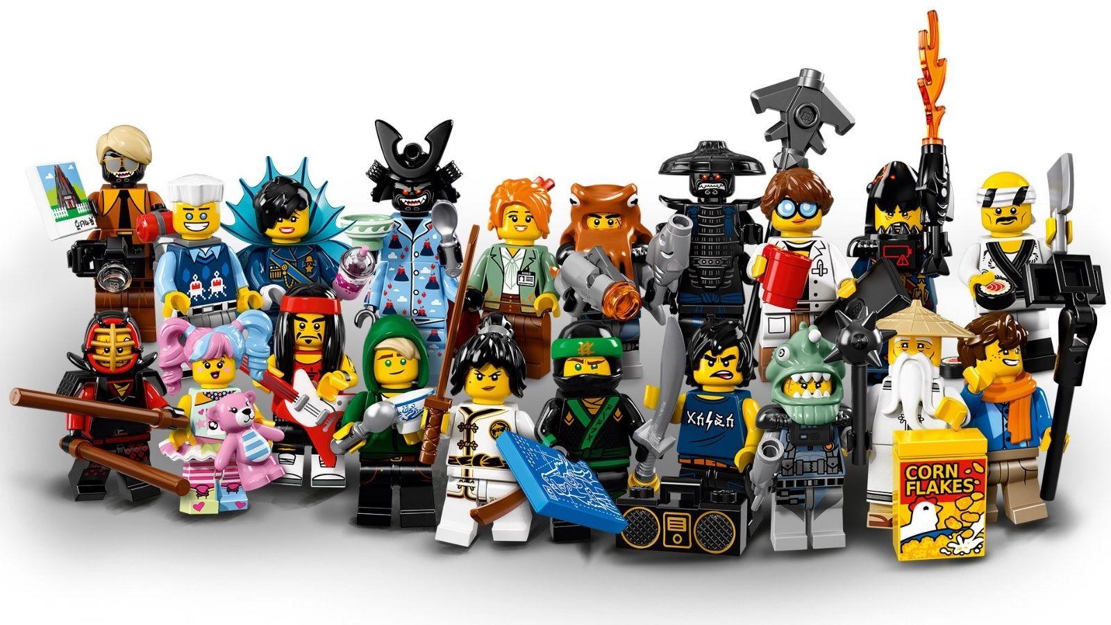 Studded Plate The Lego Ninjago Movie Minifigures