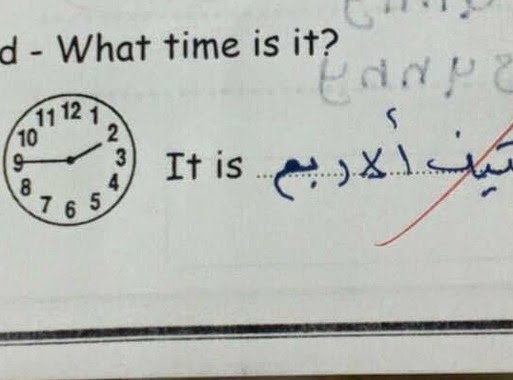 أغرب إجابات الطلاب في الإخبارات - لن تتمالك نفسك من الضحك