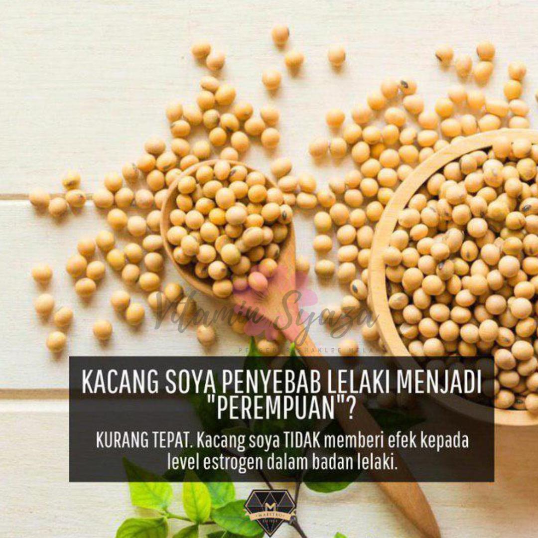mitos kacang soya