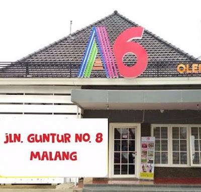 Alamat Asix Oleh Oleh Malang