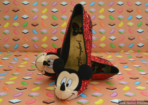 irregular choice disney mickey mouse shoes