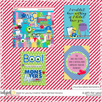 Incorporated Monsters by Kellybell Designs