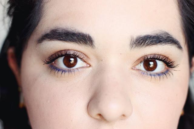 Subtle Blue Eyeliner