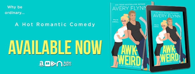 Awk-Weird Release Day & Review Blitz