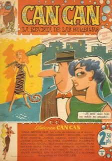 Can Can nº 9, portada