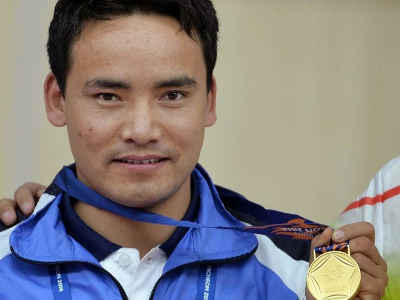Jitu Rai won individual and team gold medal in National Shooting Championship