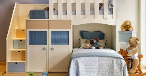 Muebles modernos minimalistas literas para ni os - Muebles literas infantiles ...