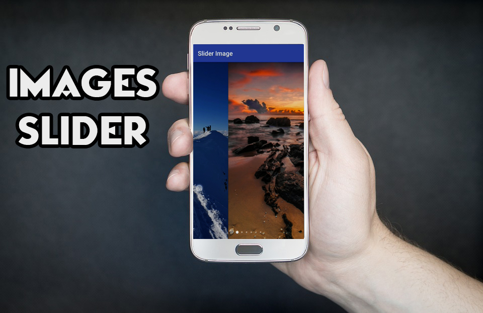 How To Create Images Slider In Android - How-To Tutorials & Source