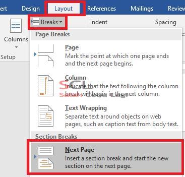 Cara Mengatur Nomor Halaman Pada Microsoft Word 2016 Blog On